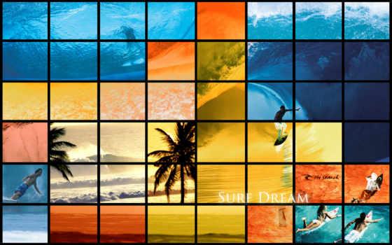 surf, pantalla, fondos