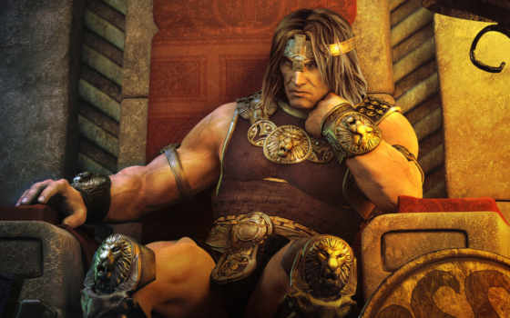 conan, age, adventures, hyborian, game,