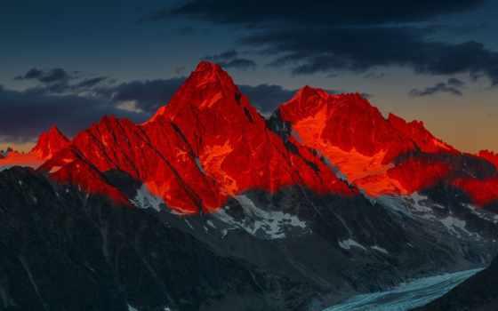 яndex, red, горы