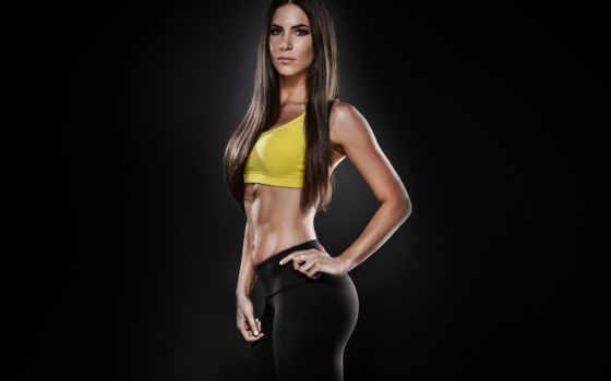 фитнес, модель, physical, png, соцсети, коллекциях, упражнения, макет,