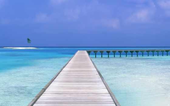 пляж, maldive, resort, mac, drawing, небо