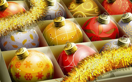 christmas, balls Фон № 13844 разрешение 1920x1200