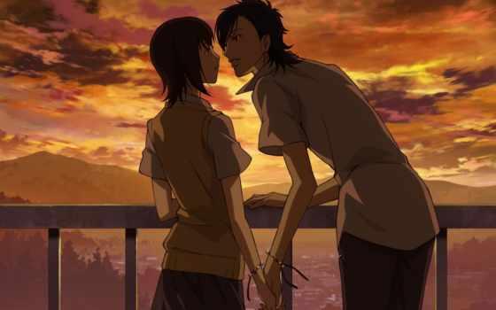 аниме, скажи, люблю, тебя, love,