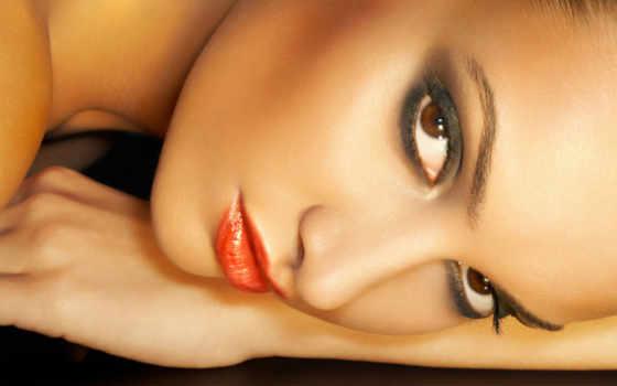 глаз, красивая, женщины