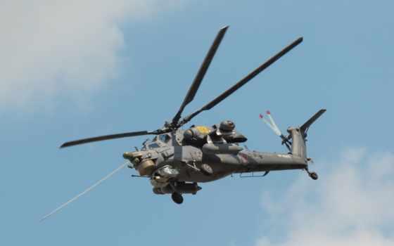 Ми-35, вертолет, shock