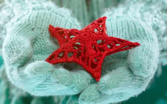 star, crochet, перчатка, добавить, winter, love, твой, оригинал, рука