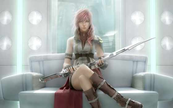 fantasy, final, lightning, xiii, returns,