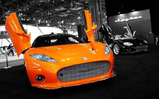 spyker, автомобильные, widescreen, страница, jaguar,