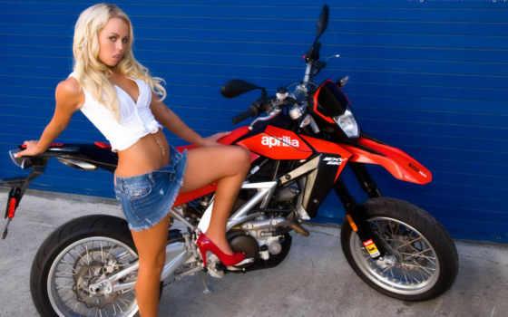 мотоциклы, девушки, декабрь