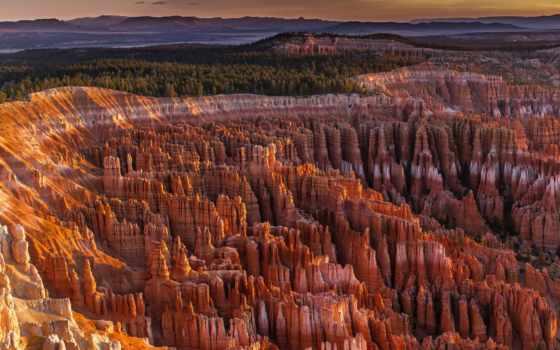 каньон, горы, скалы, сша, grand, небо, oblaka, bryce, alcatel, природа,