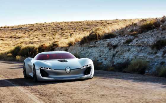 renault, trezor, представила, concept, company, электрического, спорткара,