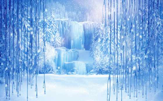 сердце, холодное, disney, walt, frozen, arendelle, фоны, водопад, постеры,