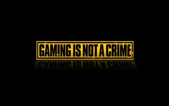 gaming, crime, games