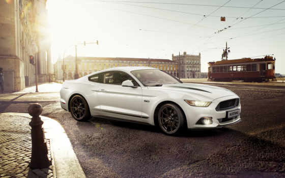 ford, mustang, издание, black, shadow, blue, спец, car,