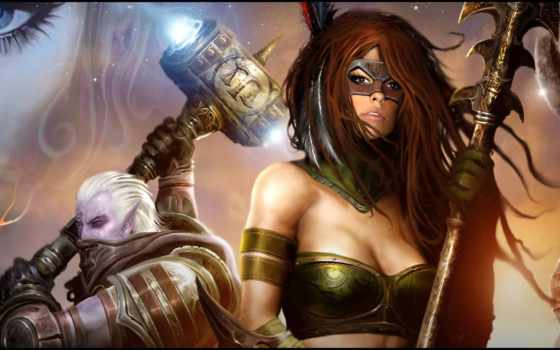 legends, norrath, fantasy, online, красивые, широкоформатные,