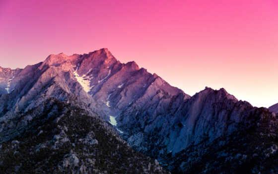 горы, пейзажи -, небо, гор, alabama, hills, сша, зак,