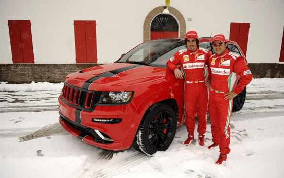 cherokee, jeep, grand, srt, февр, alonso, фернандо, ferrari, felipe,