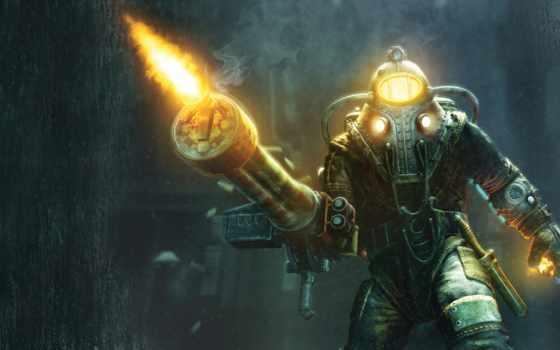 bioshock, игры, главное, delta, герой, папочка, объект, hyde, gaming,