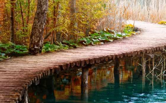 мост, река, дорога, reki, рисунок, wooden,