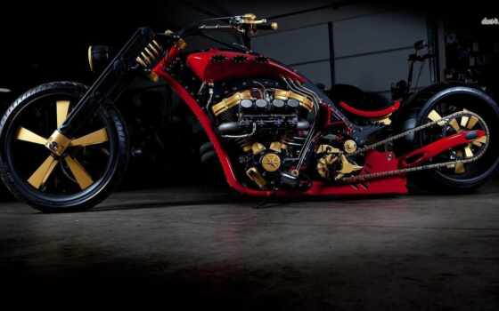 chopper, custom, motorbike, bike, тюнинг, мотоцикл, hot, rods,