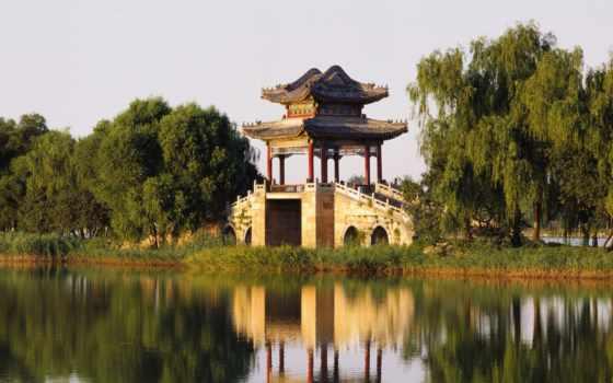 summer, beijing, дворец, west, bund, китаянка, architecture