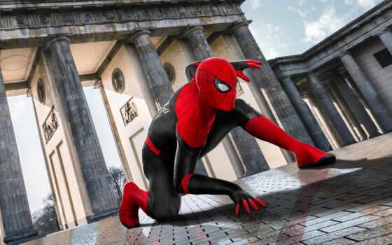 мужчина, паук, far, home, movie