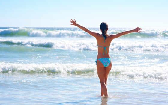 more, devushka, настроение, пляж, leto, руки, волны, рисунки,
