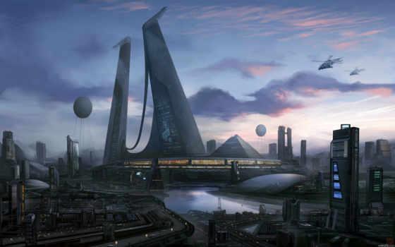 будущее, город, cities