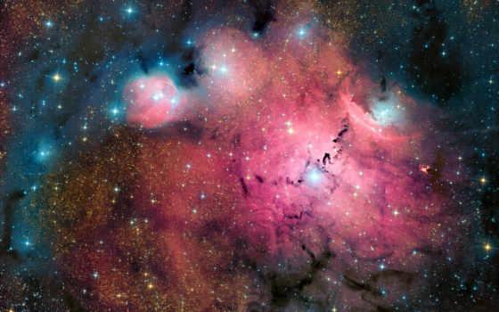 космос, туманности, космосе
