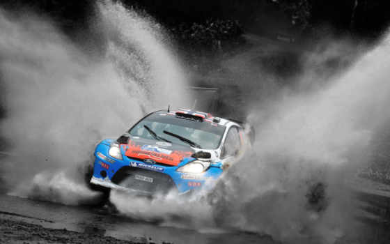 car, ford, rally, wrc, авто, fiesta, race, dirt,