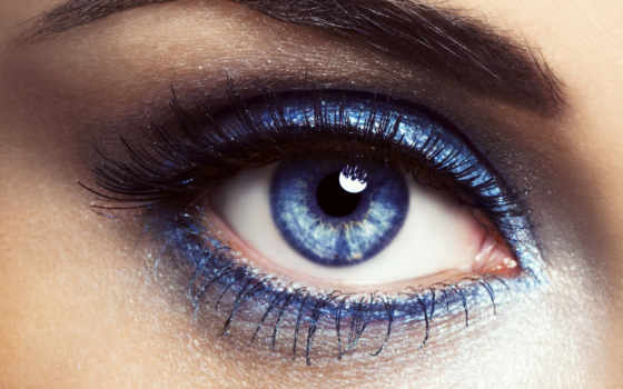 глаз, макро, ресницы, бровь, свет, зрачок, blue, макияж, взгляд, девушка,