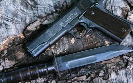 нож, mamba, оружие, colt, black, пистолет, джин, blade, firearm