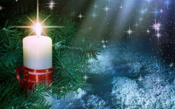 рождественская, ночь, christmas, gif, обои, когда,