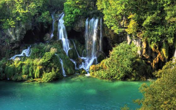 плитвицкие, озера, хорватии Фон № 108136 разрешение 2560x1600