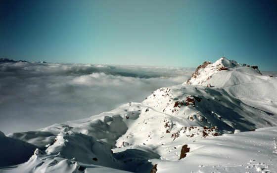 альпы, mountains, природа