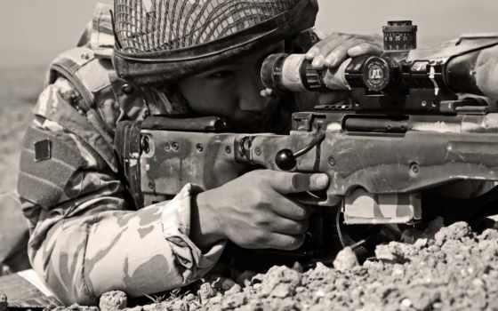 снайпер, солдат,