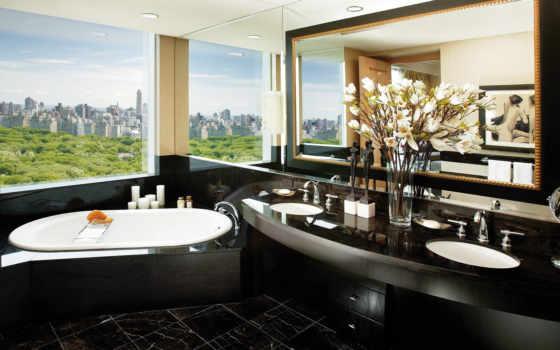 комнаты, ванной, чёрно, ванная, ванные, очень, комната, design, белой, отелей, оформление,