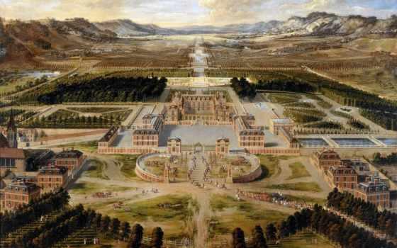 дворец, versailles, помпадур, маркиза, poisson, jeanne, портал, но, был,