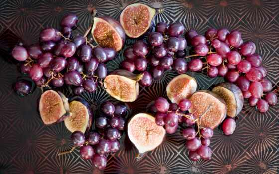 виноград, фиг, плод, cut, white, спелый, добавить, ягода, вино
