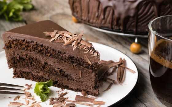 торт, chocolate, десерт, выпечка, блюдо, powder
