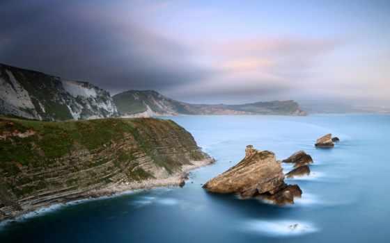 скалы, море Фон № 31847 разрешение 1920x1080