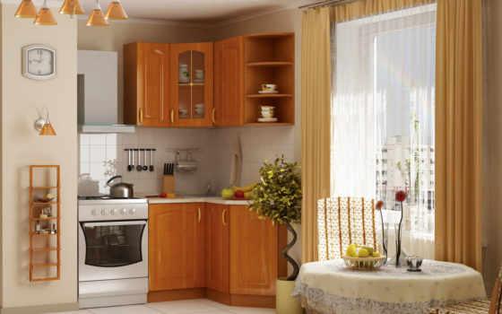 кухни, визуализация, обложку