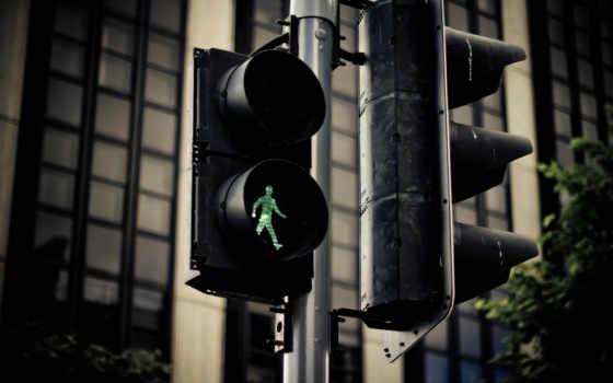 traffic, день, пешеходов