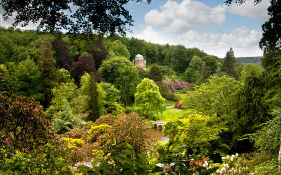 stourhead, garden, англия Фон № 94212 разрешение 2560x1600