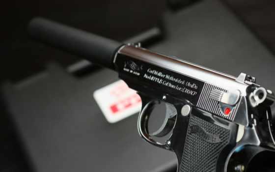walther, ppk, walter, глушитель, самозарядный, пистолет, шпалери, оружие,