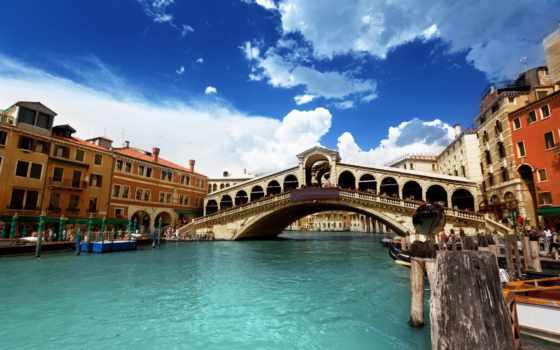 rialto, italian, venice, venezia, мост, фотообои, canal, ponte, ди, italy,