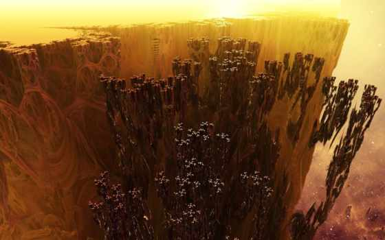fractal, частицы, rendering
