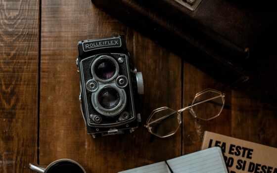 фотоаппарат, coffee, ретро, vintage, книга, glass, размытость, notebook