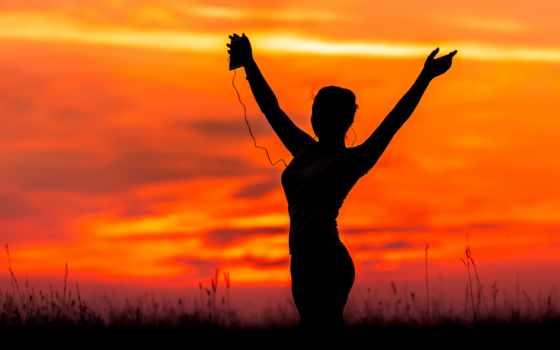 йога, закат