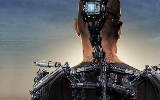 будущего, трейлеры, exoskeleton